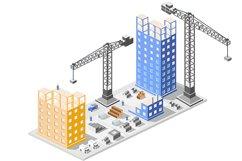 Industrial construction isometrics Product Image 1
