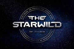 THE STARWILD - Futuristic Modern Font Product Image 1