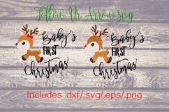 Baby's First Christmas Girl and Boy Reindeer  Product Image 3