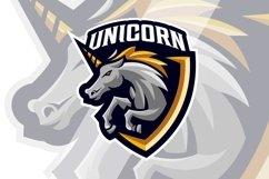 Unicorn Horse Mascot Logo Template Product Image 1