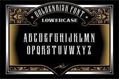 GOLDENRISK FONT Product Image 3