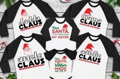 Christmas Family Matching tee svgs, Christmas svg bundle Product Image 5