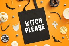 Bloodred / Spooky Halloween font Product Image 2