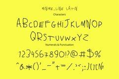 Minime color font Product Image 4