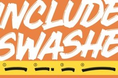 Comica Brush Display font Product Image 5