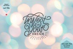 Inspirational SVG, Goal, Hustle svg, Dreamer Product Image 3