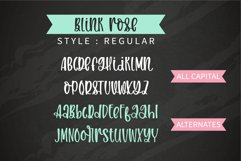 Blink Rose- A handwritten rose swashes font Product Image 4