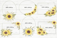 """Frames and Bouquets """"Sunflowers"""" Product Image 5"""