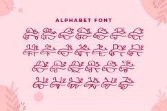 Monogram Lovely Font Product Image 4