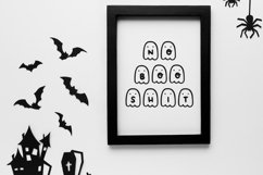 Boo Crew Halloween Dingbat Font Product Image 4
