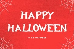 Web Font Ghostly Castle - Halloween Display Font Product Image 2
