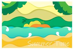 Summer backgrounds Product Image 5