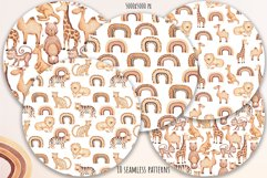 "Watercolor Clipart ""Safari Animals"" Product Image 6"