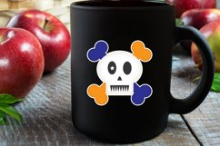 Cute Skull Boy/Girl Stickers Product Image 4