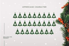 Christmas tree monogram split letter Product Image 4
