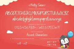 Pretty Sasa a Handwritten Font Product Image 4