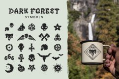 Dark Forest - Decorative Display Font Product Image 4