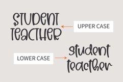 Teacher- A Cute handwritten font Product Image 4