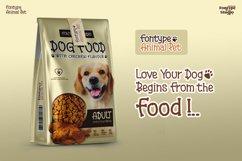 Fontype Animal Pet - Display Font Product Image 4