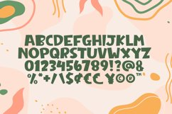 Weird Genius - Cute Display Font Product Image 2