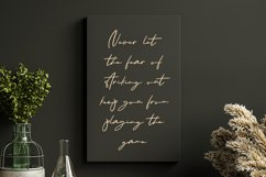 Only Wishing - a Handwritten Font