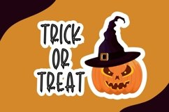 Tricky Swash - Halloween Font Product Image 4