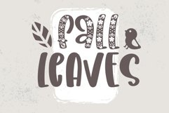 Fall Decoration - A quirky family font Product Image 3