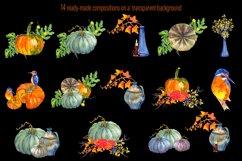 Fall Clip Art, Fall Graphics Set, Thanksgiving Clip Art Product Image 2