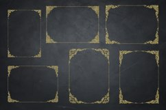 Gold Glitter Frames, Photo Effects Product Image 4