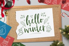 Christmas Doodle Font Product Image 5