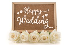 Bride and Groom - A Wedding Font Duo Product Image 4