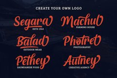 Quthey Casual Script Product Image 2
