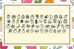 Apple Fruit Font Product Image 4