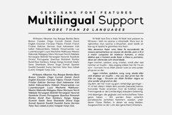 Gexo Sans - Elegant Sans Product Image 4