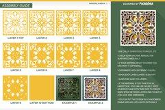 Mandala MD04 3D Layered SVG Cut File Product Image 4