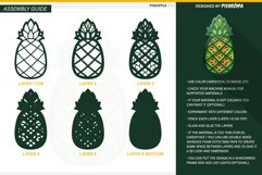 Pineapple 3D Layered SVG Cut File Product Image 4