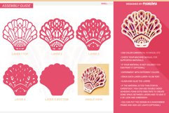 Shell 3D Layered SVG Cut File Product Image 4