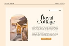 Avegas Royale - Modern Sans Product Image 4
