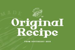 Green Core Font Product Image 3