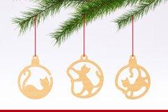 Christmas Ornaments Vol.2 - 120 Laser Cut Files Bundle Product Image 4