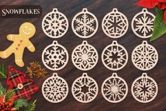 Christmas Ornaments Vol.1 - 120 Laser Cut Files Bundle Product Image 4