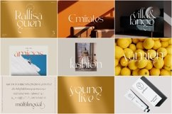 Modern Font Bundle Product Image 5