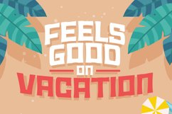 Summer Holiday Font Product Image 4