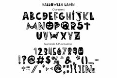 Halloween color font Product Image 4