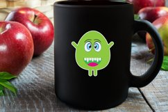 Googly Eyed Little Monsters Stickers Product Image 3