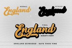 England Script Font Product Image 4