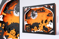 Halloween Shadowbox 3D Layered SVG Cut File Product Image 4
