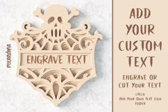 Halloween Signs 3D Layered SVG Cut Files Bundle Product Image 4