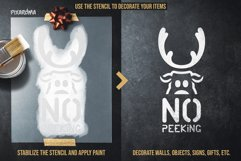 200 Christmas Stencils SVG Cut Files Bundle Product Image 4