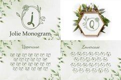 The Wedding Monogram Font Bundle Product Image 4